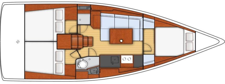 Beneteau Oceanis 38 | Audacious D