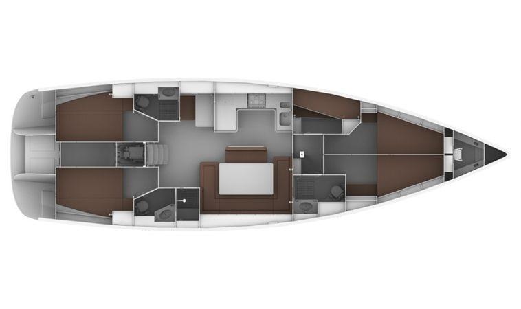 Bavaria Cruiser 50 | Bach