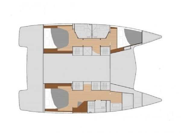 Fountaine Pajot Lucia 40   Space