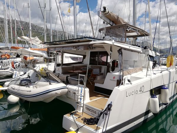 Fountaine Pajot Lucia 40 | Princess Lea