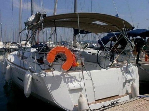 Kühlschrank Daddy Cool : Segelboot jeanneau 439 daddy cool zur miete spanien boataround