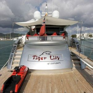 Pershing 90 | Tiger Lily of London