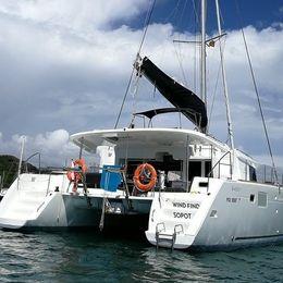 Lagoon 450 F | Wind Finder