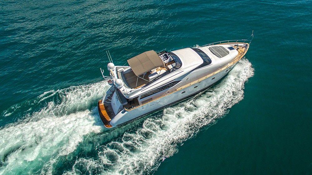 Моторная яхта - Карибские острова
