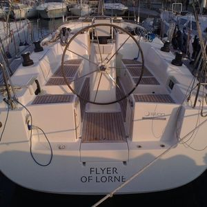 Hanse 400 | Flyer of Lorne