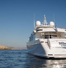 Codesaca 113 | Milos at sea