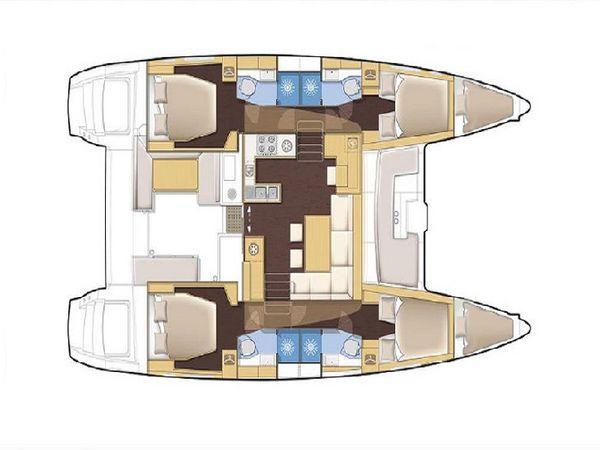 Lagoon 450 F   Llyn