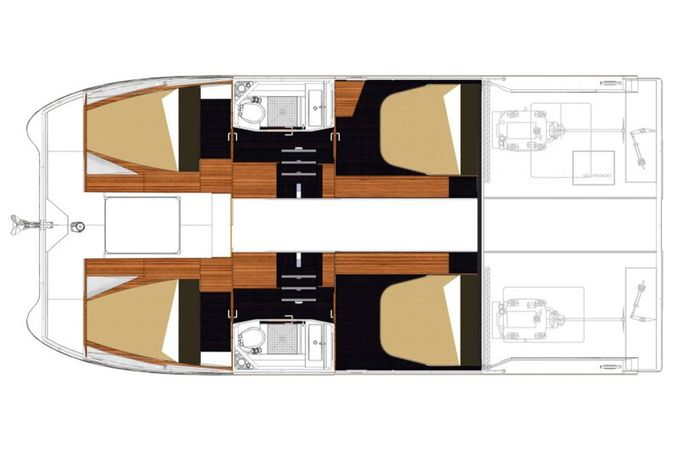 Fountaine Pajot MY 37 | Summer Blue