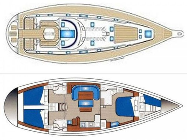 Ocean Star 51 | Draft