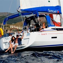 Jeanneau Sun Odyssey 419   Sunsail 16