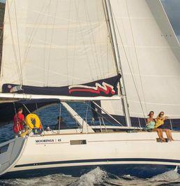 Beneteau Oceanis 45 | Moorings 17