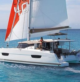 Fountaine Pajot Lucia 40 | From The Fields