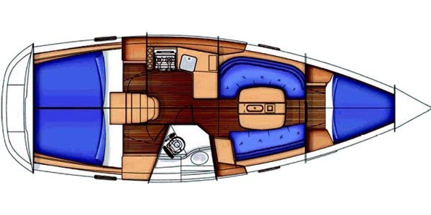 Beneteau Oceanis Clipper 343 | Lady Christal