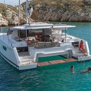 Catamaran Yacht - Caribbean