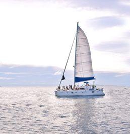 Lagoon 500   Blue Odyssey