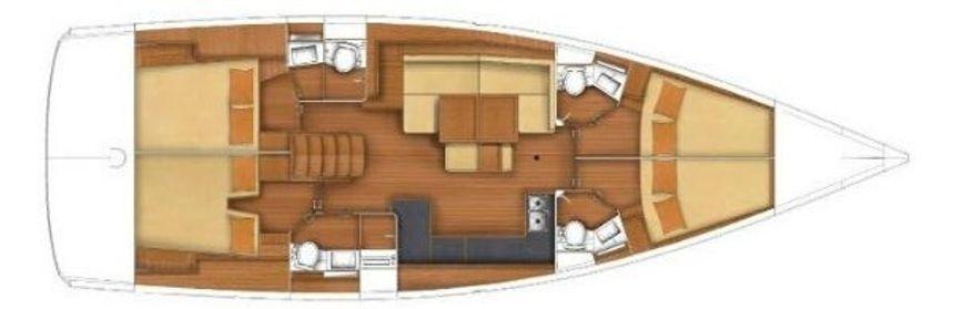 Beneteau Oceanis 48   Roxanna