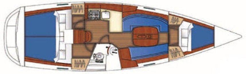 Beneteau Oceanis Clipper 343 | Naysika