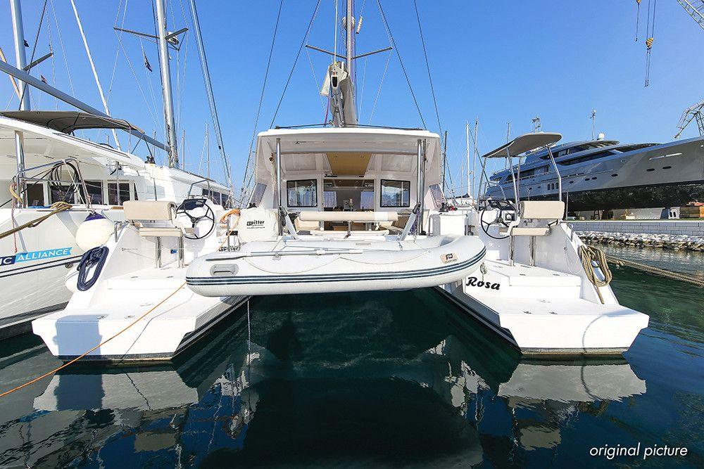 Catamaran Yacht - France