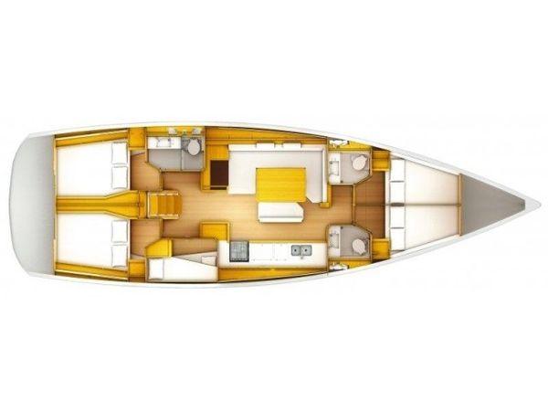 Jeanneau Sun Odyssey 509 | Katrina