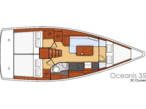 Beneteau Oceanis 35 | Gaston