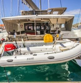 Fountaine Pajot Saba 50 | Sunshine Reggae