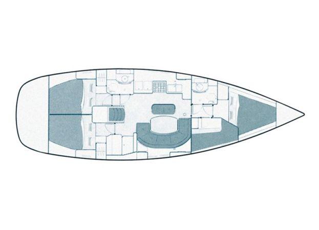 Beneteau Oceanis Clipper 411 | Ana Marija