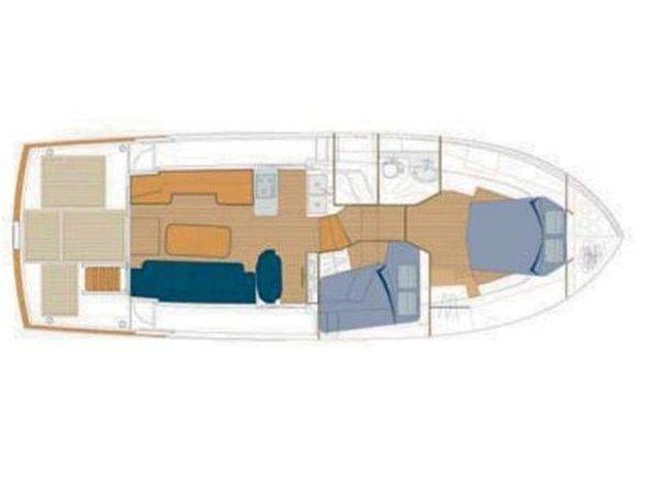 Beneteau Swift Trawler 42   Skitnica
