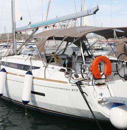 Jeanneau Sun Odyssey 419   Eulimene