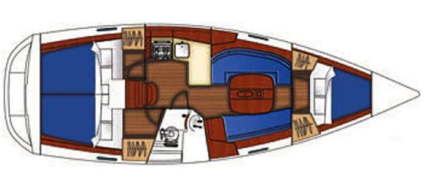 Beneteau Oceanis Clipper 343   Tombo