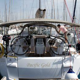 Jeanneau Sun Odyssey 479 | Pacific Gold