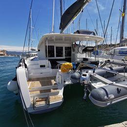 Lagoon 40 | Sailing point