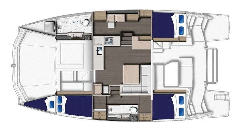 Leopard 43 PC | Moorings 19