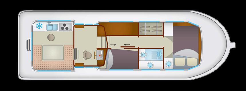 Pénichette 1106 | Locaboat 84