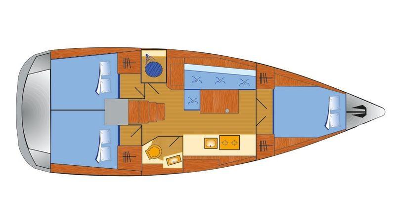 Beneteau Oceanis 38.1 | Maja