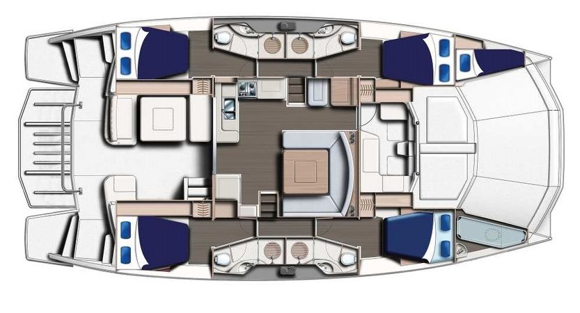Leopard 51 PC | Moorings 16