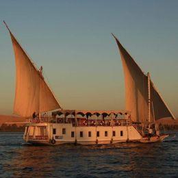 Custom Built Dahabiya   Luxor Sailing Dahabiya